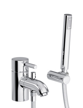 Harmonie Single Lever Bath Filler Tap With Shower Diverter