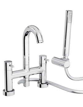 Harmonie Deck Mounted Bath Shower Mixer Tap - AB1186