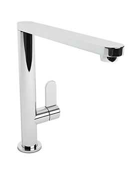 Linear Chrome Single Lever Kitchen Mixer Tap