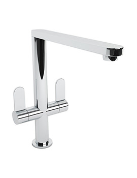 Linear Chrome Monobloc Kitchen Mixer Tap