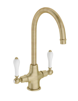 Related Abode Ludlow Monobloc Kitchen Tap Antique Bronze - AT1028