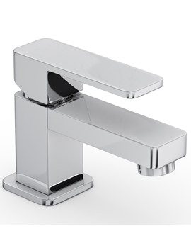 Fervour Monobloc Mini Basin Mixer Tap Chrome - AB1250