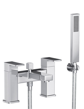Fervour Deck Mounted Bath Filler Tap With Handset - AB1251