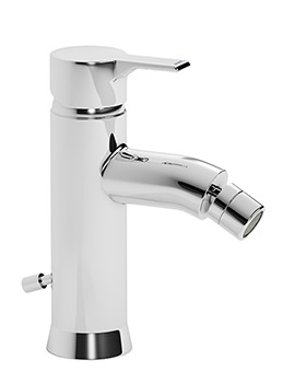 Passion Single Lever Bidet Mixer Tap with Pop-up Waste - AB1160