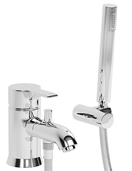 Passion Single Lever Bath Filler Tap With Shower Diverter