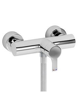 Passion Wall Mounted Exposed Shower Mixer Tap - AB1164