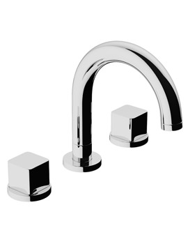 Related Abode Rapport Thermostatic 3TH Bath Mixer Tap - AB3006