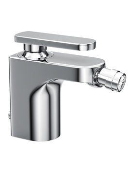 Rapture Single Lever Bidet Mixer Tap With Pop-Up Waste - AB1003