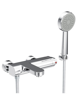 Rapture Thermostatic Bath Shower Mixer Tap With Handset - AB1004