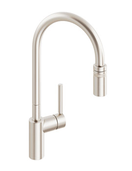 Related Abode Ratio Brushed Nickel Single Lever Kitchen Tap - AT1050