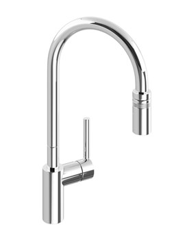 Ratio Single Lever Pull Out Kitchen Mixer Tap - AT1049