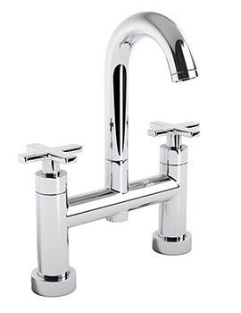 Serenitie Deck Mounted Bath Filler Tap With Swan Spout - AB1064