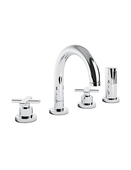 Abode Serenitie Thermostatic 4TH Bath Shower Mixer Tap - AB3023