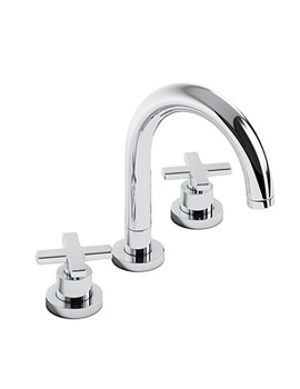 Serenitie Thermostatic 3TH Bath Mixer Tap - AB3003