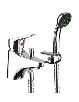 Veracity Bath Filler Tap With Shower Handset And Diverter