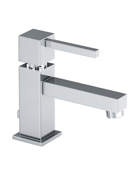 Zeal Single Lever Basin Mixer Tap With Pop-up Waste - AB1271