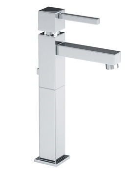 Zeal Tall Single Lever Basin Mixer Tap With Pop-up Waste - AB1272