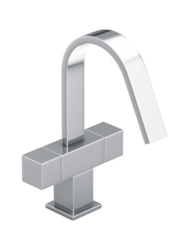 Zeal Monobloc Chrome Basin Mixer Tap - AB1289