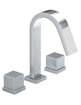 Zeal Thermostatic Deck Mounted 3TH Bath Mixer Tap - AB3008