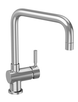 Abode Propus Single Lever Stainless Steel Kitchen Tap
