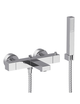 Zeal Thermostatic Wall Mounted Bath Shower Mixer - AB1280