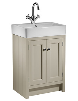 Hampton 550mm Countertop Unit Mocha And Basin