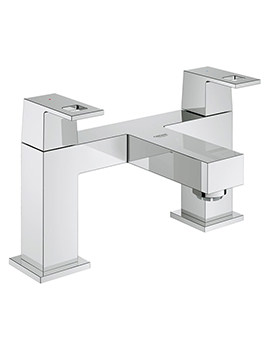 Eurocube Two-Handled Bath Filler Tap - 25136000