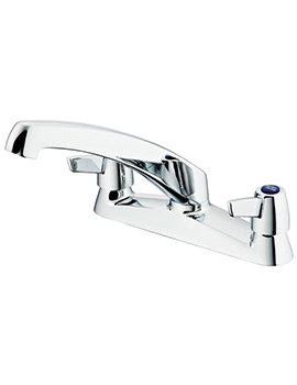 Armitage Shanks Sandringham 21 2 Hole Sink Mixer Tap With Lever Handles