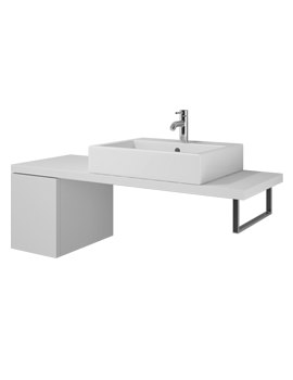 Duravit L Cube 320 x 477mm Cabinet For Console - LC684801818