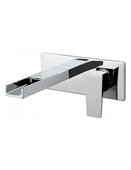 Synergie Wall Mounted 2 Hole Basin Mixer Tap - SYN-109S