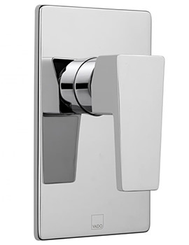 Synergie Wall Mounted Concealed Manual Shower Mixer Valve - SYN-145