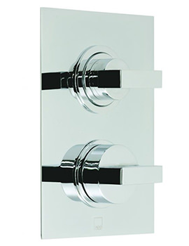 Notion Concealed Thermostatic Shower Valve With Integrated Diverter