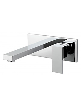 Notion Wall Mounted 2 Hole Basin Mixer Tap - NOT-109S