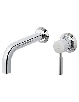 Origins Wall Mounted 2 Hole Basin Mixer Tap - ORI-109S