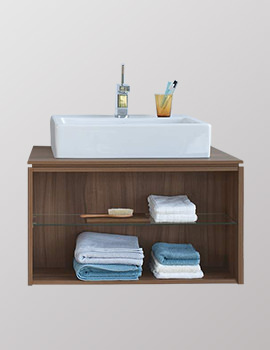 X-Large 800mm Wall-Mounted Opened Compartment Vanity Unit
