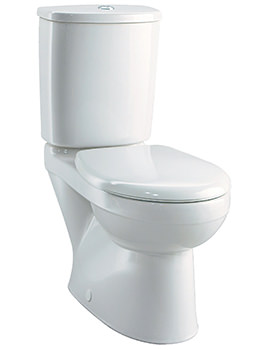 Galerie Close Coupled WC With Cistern And Fittings 690mm