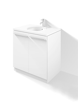 X-Large 800mm Floor Standing 2 Door Vanity Unit