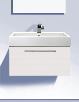 Duravit Fogo 550mm Vanity Unit With 600mm Vero Basin - FO955401818