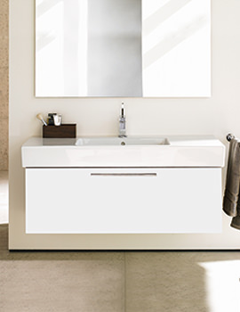 Fogo 1200mm Vanity Unit With 1250mm Vero Washbasin