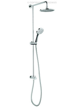 Fusion Shower Diverter With Fixed Head And Handset Kit