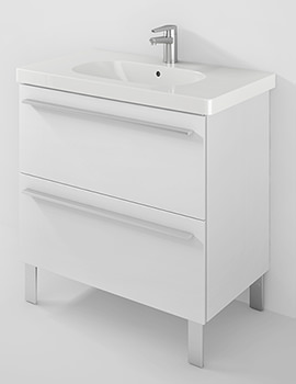 X-Large 800mm Unit 2 Pullout Compartment And 850mm D-Code Basin