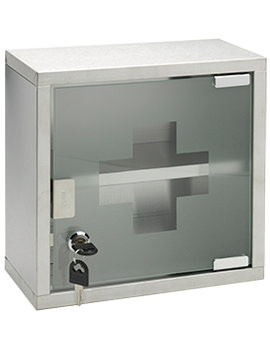 250 x 250mm Lockable Medicine Cabinet