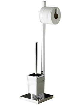 Sagittarius Madison Toilet Brush And Roll Holder