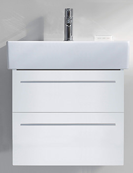 Duravit X-Large 750mm 2 Drawer Unit With 800mm Vero Washbasin