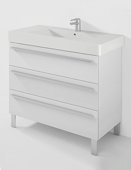 Duravit X-Large 1000mm 3 Pull-Out Compartment With 1050mm Vero Basin