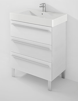 X-Large 800mm 3 Drawer Unit With 850mm Vero Basin