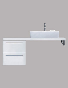 X-Large 300 x 478mm 2 Drawer Cabinet For Console - XL6521