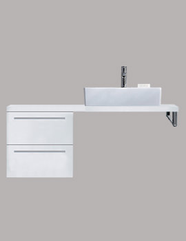 X-Large 400 x 478mm 2 Drawer Cabinet For Console - XL6522