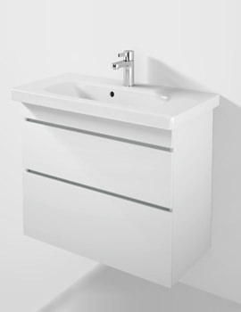 DuraStyle 730mm 2 Drawers Unit With 785mm Basin - DS6499