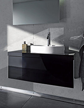 Starck 835mm Wall Mounted 1 Compartment Vanity Unit